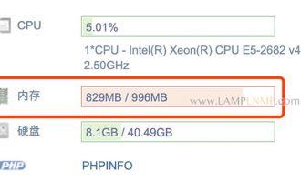 AMH云主机面板释放内存的方法(Linux服务器)